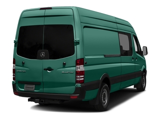 Solar Green 2017 Mercedes-Benz Sprinter Crew Van Pictures Sprinter Crew Van 2500 High Roof I4 170 RWD photos rear view