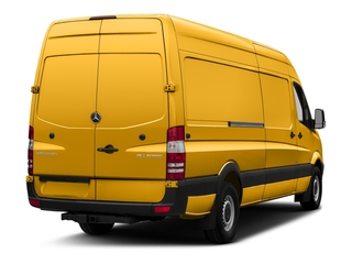 Calcite Yellow Metallic 2017 Mercedes-Benz Sprinter Cargo Van Pictures Sprinter Cargo Van 3500 High Roof V6 170 Extended RWD photos rear view