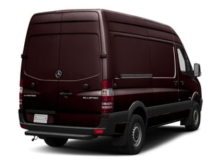 Velvet Red 2017 Mercedes-Benz Sprinter Cargo Van Pictures Sprinter Cargo Van 2500 High Roof V6 170 RWD photos rear view