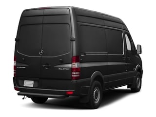 Graphite Gray Metallic 2017 Mercedes-Benz Sprinter Cargo Van Pictures Sprinter Cargo Van 2500 High Roof V6 170 RWD photos rear view