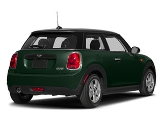 British Racing Green Metallic 2017 MINI Hardtop 2 Door Pictures Hardtop 2 Door Cooper FWD photos rear view