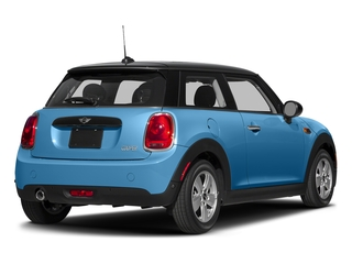 Electric Blue Metallic 2017 MINI Hardtop 2 Door Pictures Hardtop 2 Door Cooper FWD photos rear view