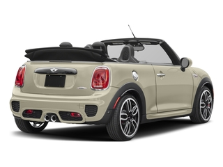Pepper White 2017 MINI Convertible Pictures Convertible Convertible 2D JCW I4 Turbo photos rear view