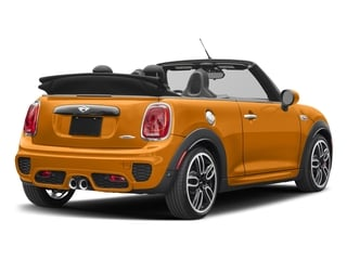 Volcanic Orange 2017 MINI Convertible Pictures Convertible Convertible 2D JCW I4 Turbo photos rear view