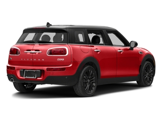 Chili Red 2017 MINI Clubman Pictures Clubman Wagon 4D Clubman I3 Turbo photos rear view