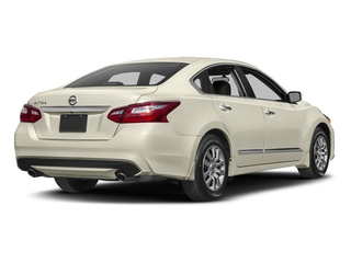 Pearl White 2017 Nissan Altima Pictures Altima Sedan 4D S I4 photos rear view