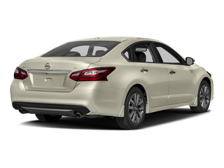 Pearl White 2017 Nissan Altima Pictures Altima Sedan 4D SL V6 photos rear view