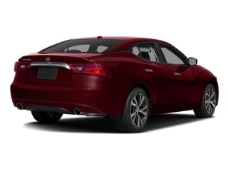 Coulis Red 2017 Nissan Maxima Pictures Maxima Sedan 4D SV V6 photos rear view