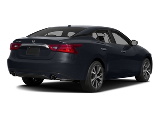 Storm Blue 2017 Nissan Maxima Pictures Maxima Sedan 4D SV V6 photos rear view