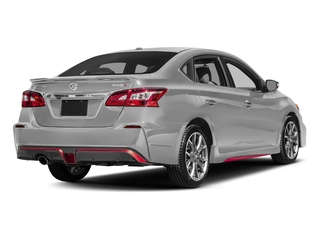 Brilliant Silver 2017 Nissan Sentra Pictures Sentra Sedan 4D NISMO I4 Turbo photos rear view
