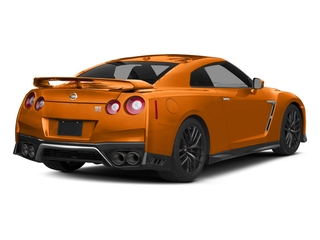 Blaze Metallic 2017 Nissan GT-R Pictures GT-R Coupe 2D Track Edition AWD V6 Turbo photos rear view