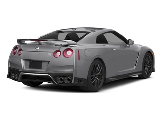 Super Silver Metallic 2017 Nissan GT-R Pictures GT-R Coupe 2D Track Edition AWD V6 Turbo photos rear view