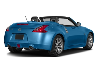 Deep Blue Pearl 2017 Nissan 370Z Pictures 370Z Roadster 2D Touring Sport V6 photos rear view