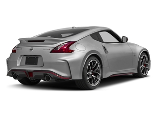 Brilliant Silver 2017 Nissan 370Z Pictures 370Z Coupe 2D NISMO Tech V6 photos rear view