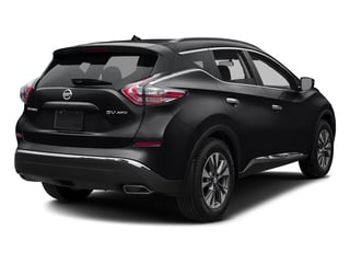 Magnetic Black Metallic 2017 Nissan Murano Pictures Murano Utility 4D SV 2WD V6 photos rear view
