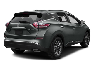 Gun Metallic 2017 Nissan Murano Pictures Murano Utility 4D SV 2WD V6 photos rear view