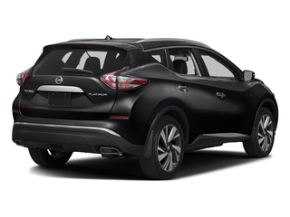 Magnetic Black Metallic 2017 Nissan Murano Pictures Murano Utility 4D SL 2WD V6 photos rear view