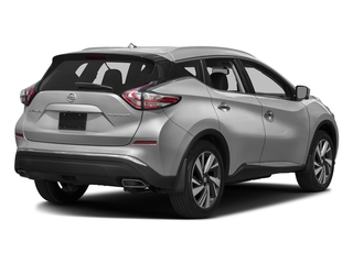 Brilliant Silver Metallic 2017 Nissan Murano Pictures Murano Utility 4D SL 2WD V6 photos rear view