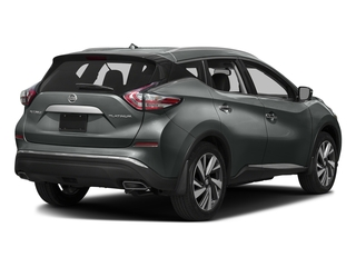 Gun Metallic 2017 Nissan Murano Pictures Murano Utility 4D SL 2WD V6 photos rear view