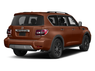 Forged Copper 2017 Nissan Armada Pictures Armada Utility 4D Platinum 2WD V8 photos rear view