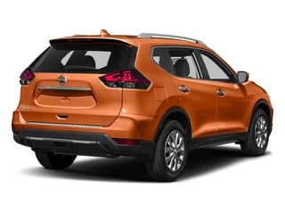 Monarch Orange 2017 Nissan Rogue Pictures Rogue Utility 4D S 2WD I4 photos rear view