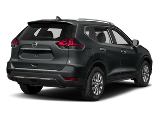 Magnetic Black 2017 Nissan Rogue Pictures Rogue Utility 4D S 2WD I4 photos rear view