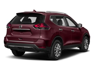 Palatial Ruby 2017 Nissan Rogue Pictures Rogue Utility 4D S 2WD I4 photos rear view