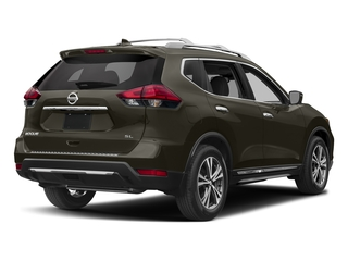 Midnight Jade 2017 Nissan Rogue Pictures Rogue Utility 4D SL AWD I4 photos rear view