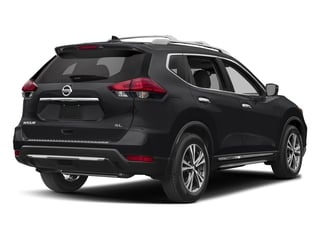 Magnetic Black 2017 Nissan Rogue Pictures Rogue Utility 4D SL AWD I4 photos rear view