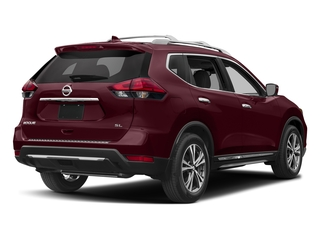 Palatial Ruby 2017 Nissan Rogue Pictures Rogue Utility 4D SL AWD I4 photos rear view