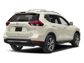 Pearl White 2017 Nissan Rogue Pictures Rogue Utility 4D SL AWD I4 photos rear view