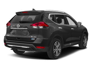 Gun Metallic 2017 Nissan Rogue Pictures Rogue Utility 4D SL 2WD I4 Hybrid photos rear view