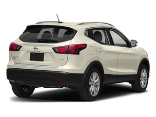 Pearl White 2017 Nissan Rogue Sport Pictures Rogue Sport Utility 4D SV AWD photos rear view