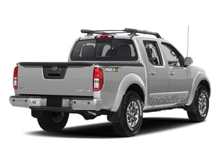 Brilliant Silver 2017 Nissan Frontier Pictures Frontier Crew Cab PRO-4X 4WD photos rear view