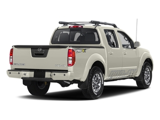 Glacier White 2017 Nissan Frontier Pictures Frontier Crew Cab PRO-4X 4WD photos rear view