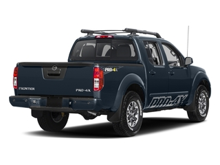 Arctic Blue Metallic 2017 Nissan Frontier Pictures Frontier Crew Cab PRO-4X 4WD photos rear view