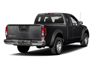 Magnetic Black 2017 Nissan Frontier Pictures Frontier King Cab S 2WD photos rear view