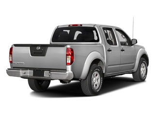 Brilliant Silver 2017 Nissan Frontier Pictures Frontier Crew Cab S 4WD photos rear view