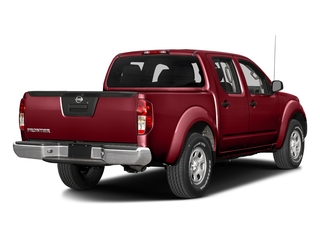 Cayenne Red 2017 Nissan Frontier Pictures Frontier Crew Cab S 4WD photos rear view