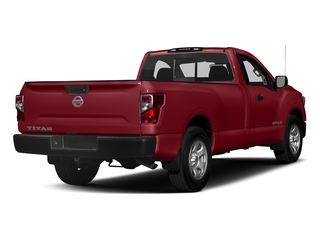 Cayenne Red 2017 Nissan Titan Pictures Titan Regular Cab S 2WD photos rear view