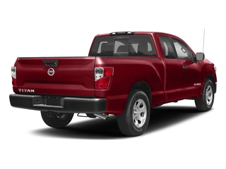 Cayenne Red 2017 Nissan Titan Pictures Titan King Cab S 4WD photos rear view