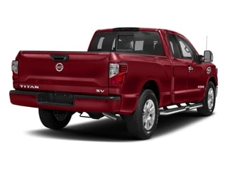 Cayenne Red 2017 Nissan Titan Pictures Titan King Cab SV 2WD photos rear view