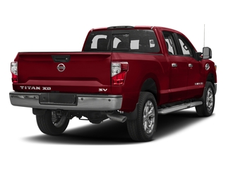 Cayenne Red 2017 Nissan Titan XD Pictures Titan XD Crew Cab SV 2WD photos rear view