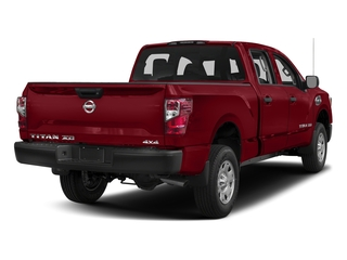Cayenne Red 2017 Nissan Titan XD Pictures Titan XD Crew Cab S 4WD photos rear view