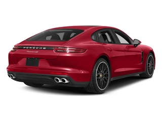 Carmine Red 2017 Porsche Panamera Pictures Panamera Hatchback 4D 4 AWD V6 Turbo photos rear view