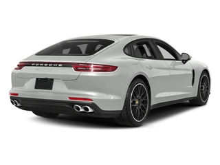 White 2017 Porsche Panamera Pictures Panamera Hatchback 4D 4 AWD V6 Turbo photos rear view