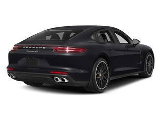 Jet Black Metallic 2017 Porsche Panamera Pictures Panamera Hatchback 4D 4 AWD V6 Turbo photos rear view