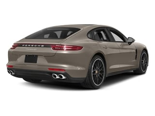 Palladium Metallic 2017 Porsche Panamera Pictures Panamera Hatchback 4D 4 AWD V6 Turbo photos rear view