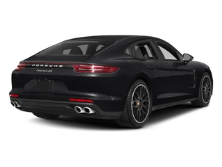 Black 2017 Porsche Panamera Pictures Panamera Hatchback 4D 4 AWD V6 Turbo photos rear view