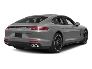 Rhodium Silver Metallic 2017 Porsche Panamera Pictures Panamera Hatchback 4D 4 AWD V6 Turbo photos rear view